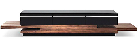 lush contemporary style tv console