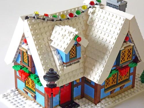 LEGO 10229 Winter Village Cottage b18