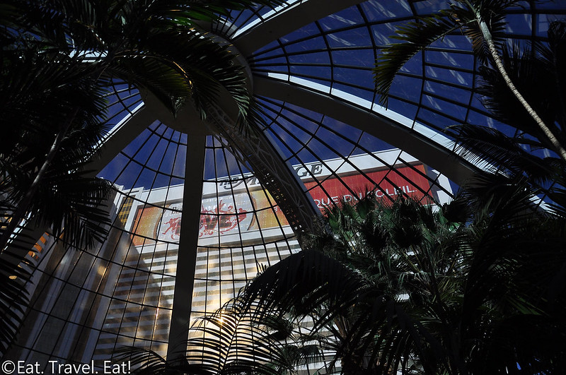 The Mirage Hotel and Casino- Las Vegas, NV: Atrium Dome