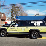 Bogota Rescue Squad 46 Fire Chief Vehicle, 2012 St. Patrick's Day Parade, Bergenfield, New Jersey