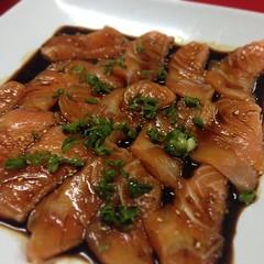 meat, food, dish, cuisine, teriyaki,