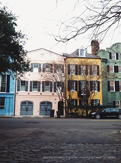 rainbow row of charleston