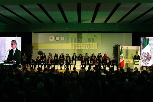 Presentación Maratón de la Ciuda de México 2014