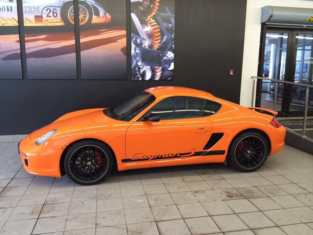 2008 Cayman S Sport Limited Edition 603 700 Pasm Sport