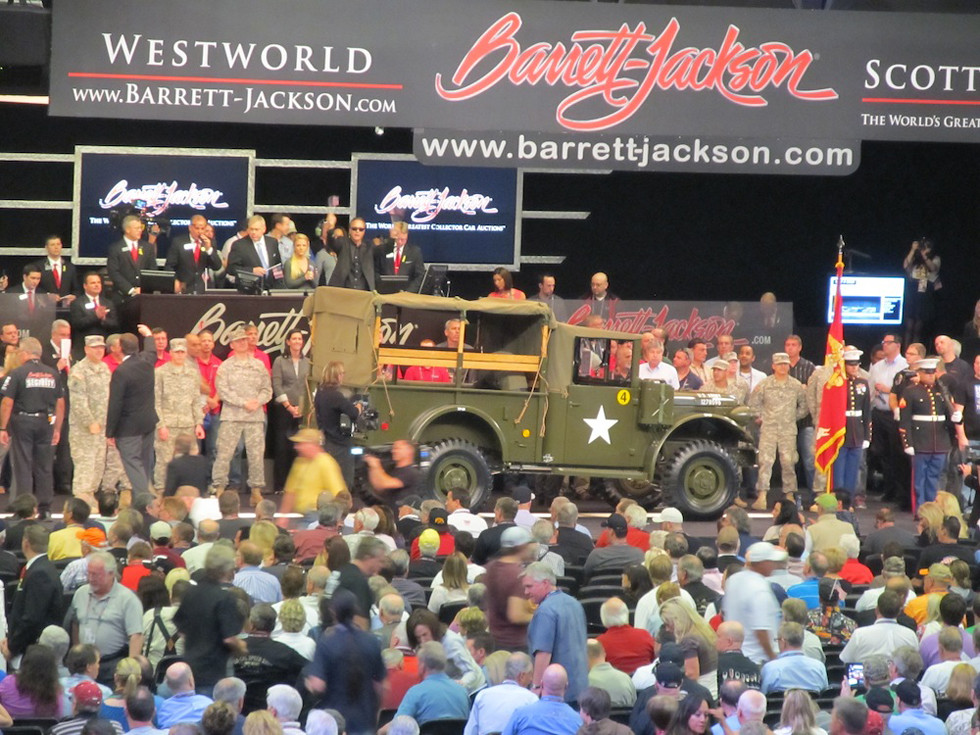 Dodge Truck Plane Barrett-Jackson Auction