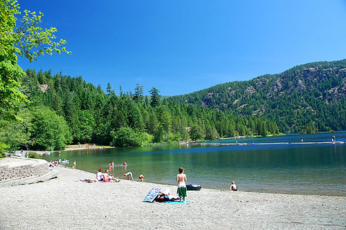Gordon Bay Park, Cowichan Lake, Cowichan Valley, Vancouver Island, British Columbia, Canada