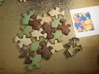 Yet another set of Escher cookie cutters