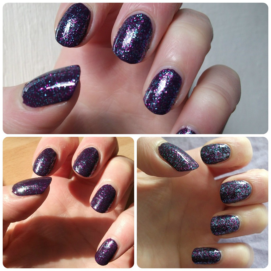 #NailArtWeeklyProject 5 Glitz & Glam Sinful Colors Frenzy