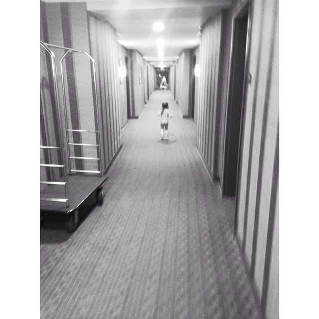 Hotel hall run #missz