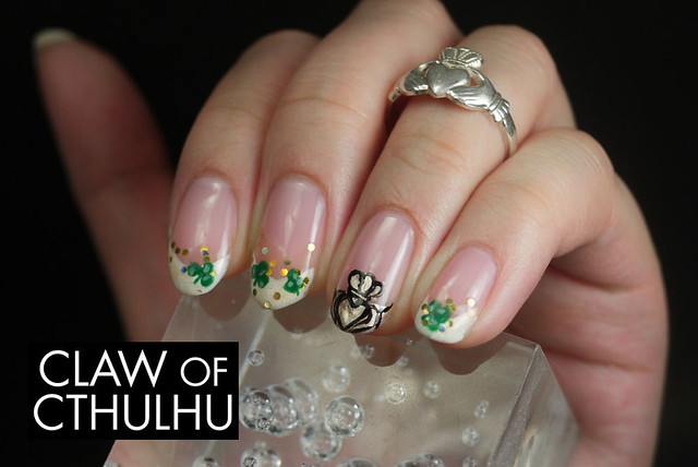 Bestie Nail Art Challenge - Week Three: St. Patrick's Day