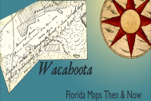 Florida Maps Then and Now: Wacahoota
