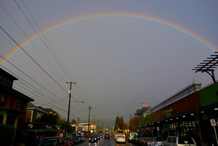 Rainbow Over Hawthorne