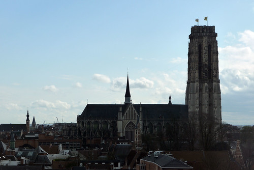 St Rumbold's Cathedral from Kazern Dossin