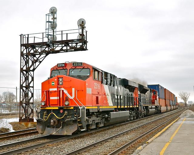 CN 149 at Dorval