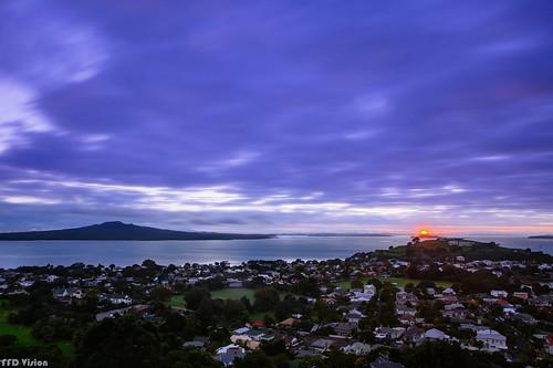 sunrise northshore auckland newzealand nz nikonnz vsco nikon d7200 longexposure clouds