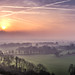 Martinsell Hill sunrise by Steve Franklin Images