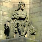 Sculpture on Preston Town Hall