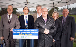The British Columbia government has committed $113 million in its share of funding for Phase 2 of the Trans-Canada Six-Laning – Fraser Valley Project.