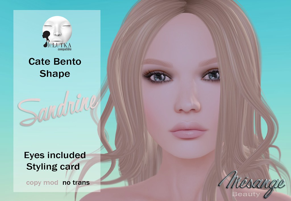 MESANGE - Sandrine Shape for SKIN FAIR 2017 - SecondLifeHub.com
