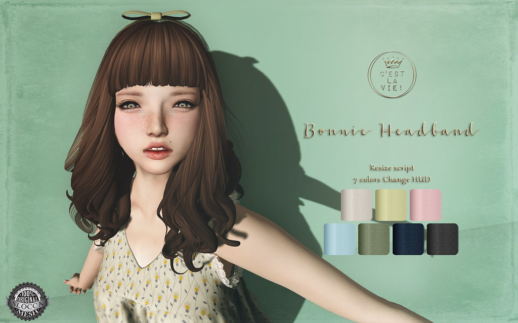 ::C'est la vie !:: Bonnie Headband Gift ?The Project Se7en? - SecondLifeHub.com