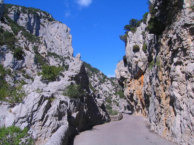 Gorge de Galamus, Canon POWERSHOT S60