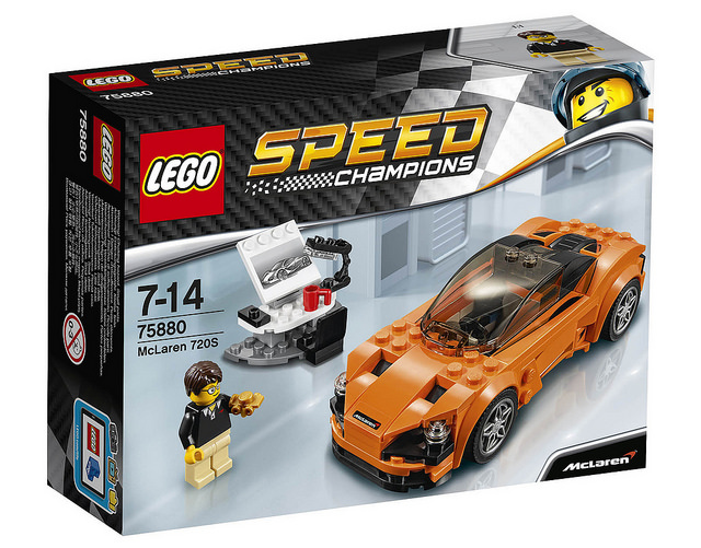 LEGO 75880【超級賽車系列】Speed Champions 麥拉倫720S McLaren720S