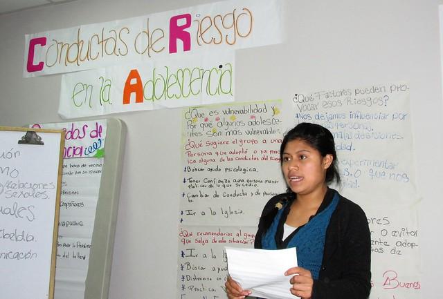 Scholarship student workshop
