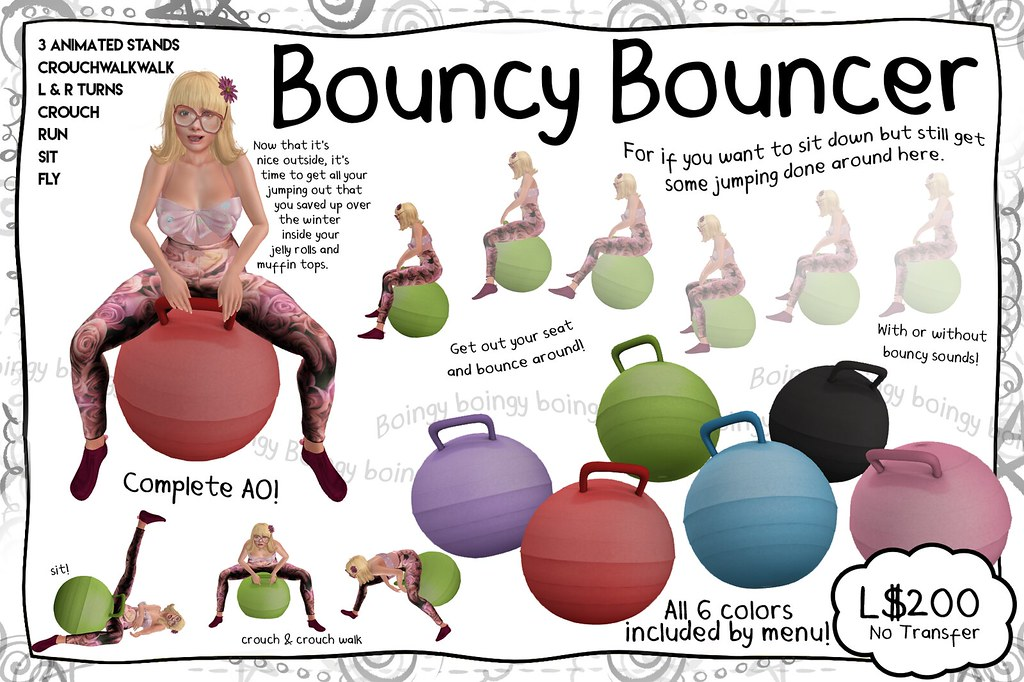 -RC- Bouncy Bouncer - SecondLifeHub.com