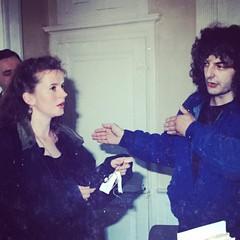 Photo qui suscite une grande émotion d'un moment clé dans ma vie : l'achat de @lagrossetalle - le 17 avril 1992. Le vendeur, Eric Villaneau est devenu un ami, mais on ne peut pas fêter ce moment ensemble, car il est décédé il y a qqs années.  #25ansLGT#25