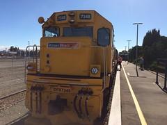 Kiwi Rail 7348 (DFB 7254) at Masterton Station