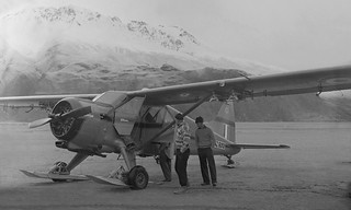 1956 NZ6001 at Mt Cook Airfield