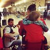 The family that rocks together... #busking at #GrandCentral