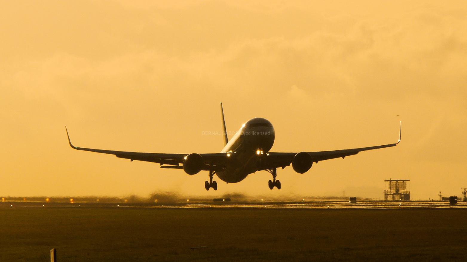 Самолет доставляет авиагруз