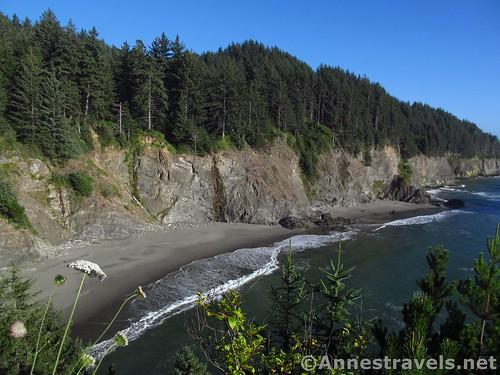 Cliffs in Samuel H. Boardman State Park, Oregon