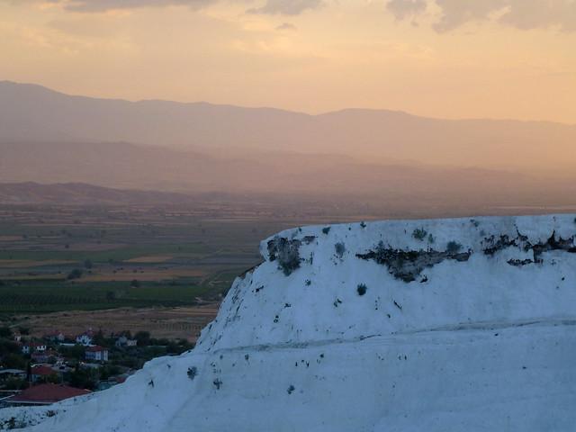 Turquie - jour 12 - De Kas à Pamukkale - 221 - Château de coton