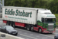 Scania R420 6x2 - PN11 AAZ - Catriona Mary - Eddie Stobart - M1 J10 Luton - Steven Gray - IMG_0431