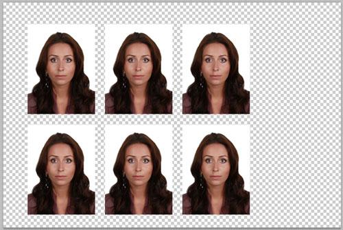 Как сделать фото 6 на 6
