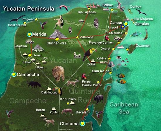Qué visitar en Yucatán en México - 8987019813 e050859e68 z - Qué visitar en Yucatán en México