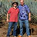 Adam & Bill in Agave Field por bbum