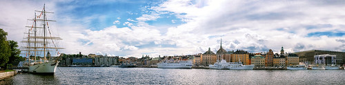 Stockholm Panorama by szeke
