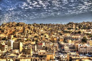 A visual representaion of Amman
