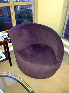 Funky Purple Armchair