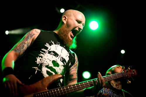 Insane als Vorband von Hatebreed live in der Arena