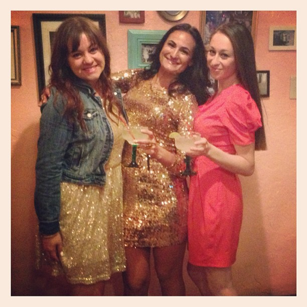 Love for the birthday girl @thymwya with @milterchka #sequinsandsombreros #birthday #sf #sequins #sparkle #margaritas