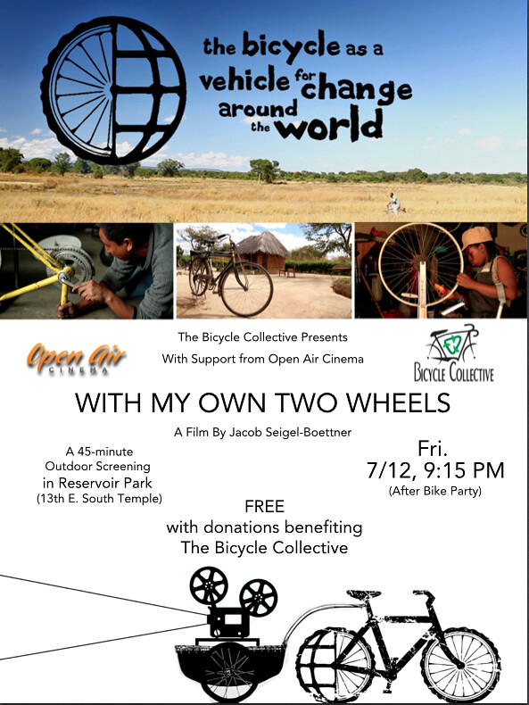 Bicycle Bound Screening Flier