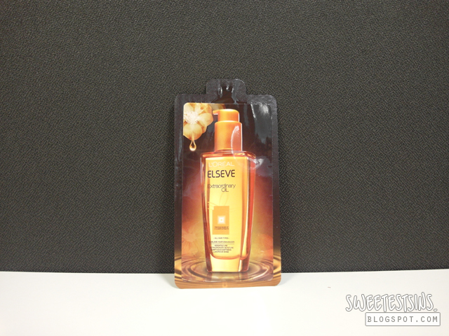 loreal elseve extraordinary oil review