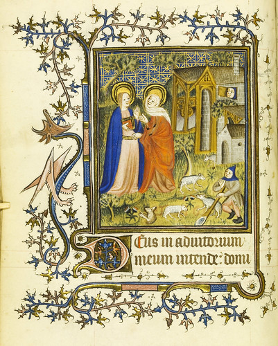 009-Horae Beatae Virginis Mariae…50v- Biblioteca Nacional de Varsovia