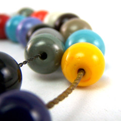 Lampwork Bead Holes Cleaned With Tumbler