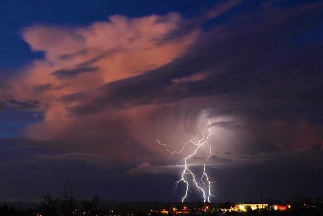 Lone Thunderstorm