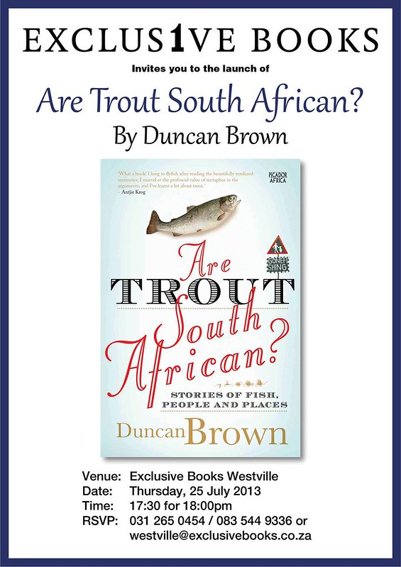 Invitation: Launch of Are Trout South African?